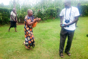 The Water Project: Mwituwa Community, Shikunyi Spring -  Coming To Training