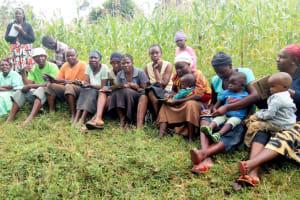 The Water Project: Muraka Community, Peter Itevete Spring -  Training