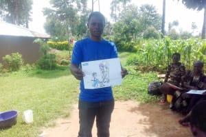 The Water Project: Lwangele Community, Machayo Spring -  Training