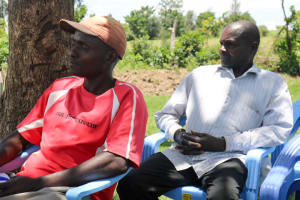 The Water Project: Vilongo Community -  Water User Committee Training