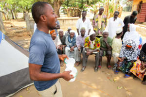 The Water Project: Molokoh Community, 720 Main Motor Road -  Oral Rehydration Training