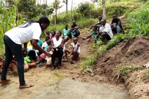 The Water Project: Ejinja Community, Anekha Spring -  Water Treatment Training