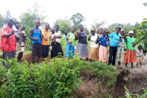 The Water Project: Matsakha Community, Mbakaya Spring -  Group Picture At The Spring