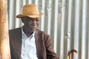 The Water Project: Samson Mmaitsi Secondary School -  School Board Chairman Clement Mmaitsi