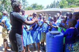 The Water Project: Eshiamboko Primary School -  Handwashing Training