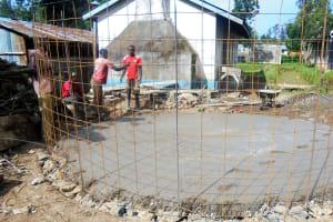 The Water Project: Essaba Secondary School -  Tank Foundation