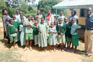 The Water Project: St. Joseph Eshirumba Primary School -  Oral Hygiene Training