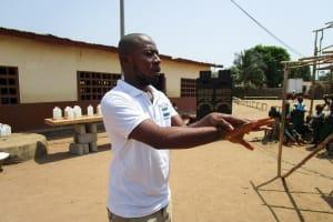 The Water Project: Kasongha Community, Kombrai Road -  Handwashing Training