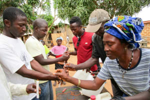 The Water Project: Targrin Community -  Tippy Tap Training