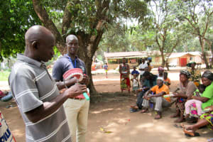 The Water Project: Kitonki Community A -  Oral Hygiene Training