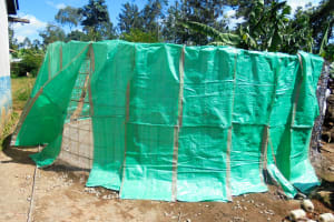 The Water Project: Essaba Secondary School -  Tank Wall Construction