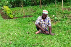 The Water Project: Muraka Community, Peter Itevete Spring -  Mr Ernest Ingosi