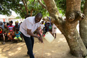 The Water Project: Mahera Community, 3 Robolla Street -  Handwashing Training