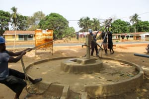 The Water Project: Molokoh Community, 720 Main Motor Road -  Drilling