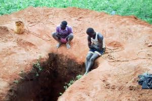 The Water Project: Samson Mmaitsi Secondary School -  Sinking A Pit For New Latrines
