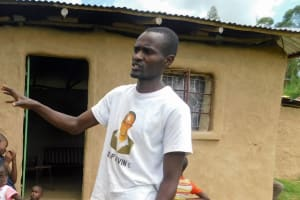 The Water Project: Ulagai Community, Rose Obare Spring -  Francis Otieno