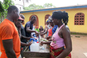 The Water Project: Kitonki Community A -  Building Tippy Taps