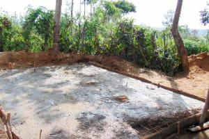 The Water Project: Eshiamboko Primary School -  Latrine Construction