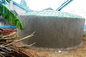 The Water Project: Essaba Secondary School -  Tank Construction