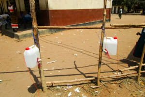 The Water Project: Kasongha Community, Kombrai Road -  Tippy Taps