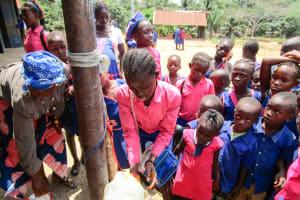 The Water Project: St. John RC Primary School -  Handwashing Training