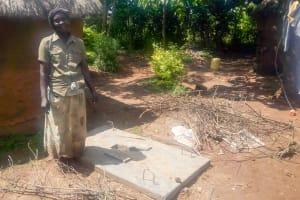 The Water Project: Mwituwa Community, Shikunyi Spring -  Sanitation Platform