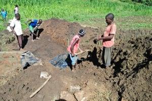 The Water Project: Emulakha Community, Alukoye Spring -  Excavation