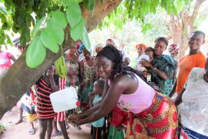 The Water Project: Kitonki Community A -  Handwashing Training