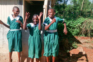 The Water Project: Mulwakhi Primary School -  Latrines