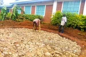The Water Project: Samson Mmaitsi Secondary School -  Laying The Foundation