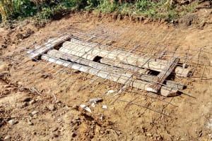 The Water Project: St. Joseph Eshirumba Primary School -  Setting A Base For Latrines