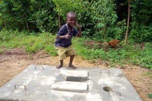 The Water Project: Nambatsa Community, Odera Spring -  Sanitation Platform