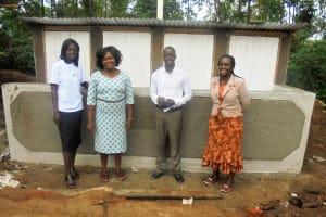 The Water Project: Essaba Secondary School -  New Latrines