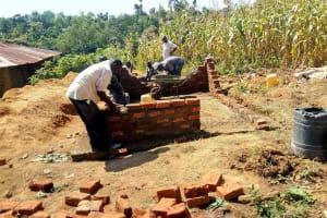 The Water Project: St. Joseph Eshirumba Primary School -  Latrine Construction