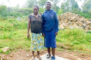 The Water Project: Ulagai Community, Aduda Spring -  Sanitation Platform