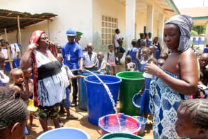 The Water Project: Rotifunk Baptist Primary School -  Flushing