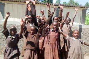 The Water Project: Mwanzo Primary School -  New Latrines