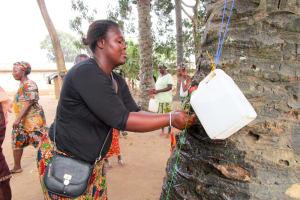 The Water Project: Tulun Community, 10 Tulon Road -  Handwashing Training