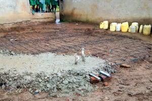The Water Project: St. Joseph Eshirumba Primary School -  Tank Foundation