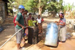 The Water Project: Mahera Community, 3 Robolla Street -  Yield Test