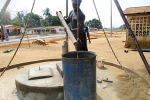 The Water Project: Molokoh Community, 720 Main Motor Road -  Flushing