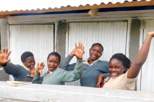The Water Project: Erusui Secondary School -  New Latrines