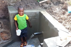 The Water Project: Matsakha Community, Mbakaya Spring -  Clean Water