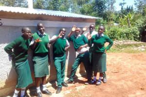The Water Project: Mulwakhi Secondary School -  Latrine