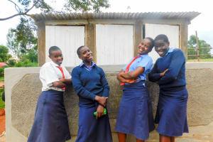 The Water Project: Samson Mmaitsi Secondary School -  New Latrines