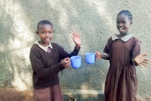 The Water Project: Mwanzo Primary School -  Clean Water