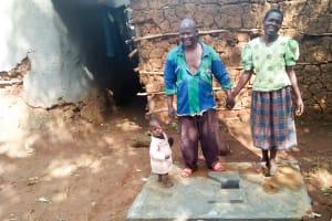 The Water Project: Emulakha Community, Alukoye Spring -  Sanitation Platform