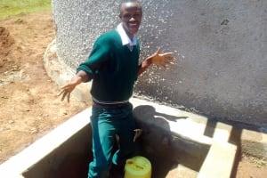 The Water Project: Mulwakhi Secondary School -  Brian Oywaya