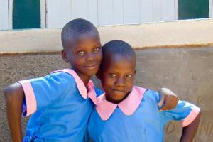 The Water Project: Eshiamboko Primary School -  Finished Latrines