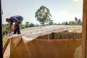 The Water Project: St. Joseph Eshirumba Primary School -  Dome Construction